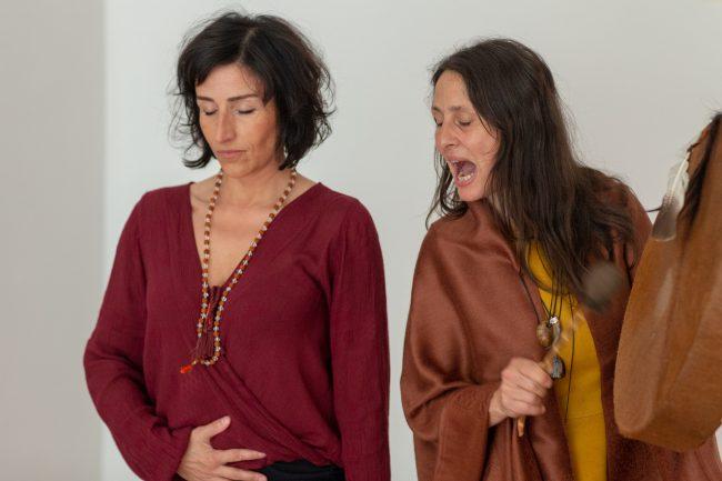 Mara Ohm und Monika Mazur