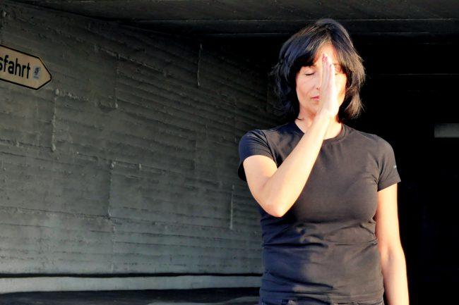 Monika Mazur zentriert