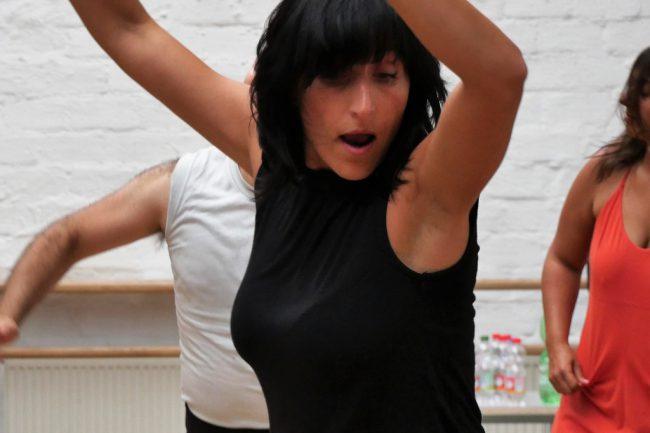 Monika Mazur tanzt